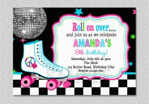 Skating Rink Birthday Party Invitations Skating Party Invitations Party Invitations Templates