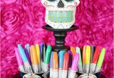 Skull Birthday Decorations Decorate Your Own Day Of the Dead Sugar Skulls soiree