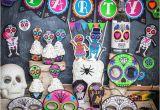 Skull Birthday Decorations Punk Sugar Skull Day Of the Dead Party Printable Decor Kit Dia