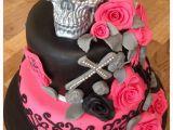 Skull Birthday Decorations Skull Birthday Cake Decorations Www Pixshark Com