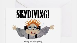 Skydiving Birthday Card Skydiving Greeting Cards Card Ideas Sayings Designs