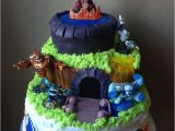Skylander Birthday Decorations Breathtaking Skylanders Birthday Cake Decorations Picture