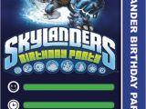 Skylander Birthday Party Invitations Items Similar to Skylander Birthday Invitation Instant