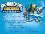 Skylander Birthday Party Invitations Skylanders Able to Edit Birthday Invitation
