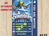 Skylander Birthday Party Invitations Skylanders Birthday Invitation Snapshot by eventsprintables