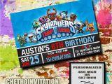 Skylander Birthday Party Invitations Skylanders Invitation Skylanders Birthday Skylanders Party