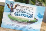 Skylander Birthday Party Invitations Skylanders Party Ideas Amy S Party Ideas