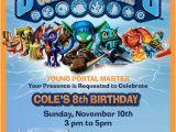 Skylander Birthday Party Invitations Skylanders Party Invitation Parties Skylander