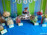 Skylanders Birthday Party Decorations Skylander Party Candy Table Wine Glue