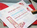 Sledding Birthday Party Invitations Party Invitations Sled and Invitations On Pinterest