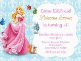 Sleeping Beauty Birthday Party Invitations Princess Aurora Sleeping Beauty Invitation Kid 39 S Birthday