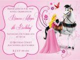 Sleeping Beauty Birthday Party Invitations Sleeping Beauty Birthday Invitation