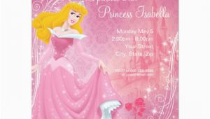 Sleeping Beauty Birthday Party Invitations Sleeping Beauty Birthday Invitation Zazzle Com