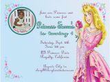 Sleeping Beauty Birthday Party Invitations Sleeping Beauty Birthday Party Invitation Ideas Bagvania