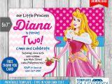 Sleeping Beauty Birthday Party Invitations Sleeping Beauty Invitation Disney Princess Invite by