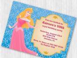 Sleeping Beauty Birthday Party Invitations Sleeping Beauty Party Invitation