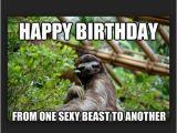 Sloth Happy Birthday Meme Birthday Memes for Friend Wishesgreeting