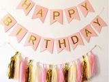 Small Happy Birthday Party Banner Ynaayu 1set Happy Birthday Banner Hanging Garlands with
