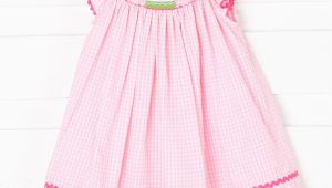 Smocked Birthday Dresses Smocked Birthday Dress Pink Gingham Smocked Auctions