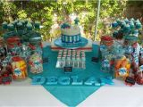 Smurf Decorations for Birthday Party Smurf Birthday Party Ideas Photo 3 Of 7 Catch My Party