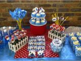 Smurf Decorations for Birthday Party Smurfs Centerpiece Table Decorations Photograph Smurf Part