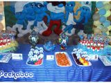 Smurf Decorations for Birthday Party southern Blue Celebrations Smurf Party Ideas