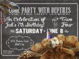 Snake Birthday Invitations Melinda Bryant Photography A Reptile Birthday Party
