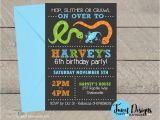 Snake Birthday Invitations Reptile Birthday Invitation Printable Reptile Invitation