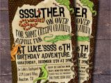 Snake Birthday Invitations Reptile Party Invitation Boys Birthday Invitation Reptile