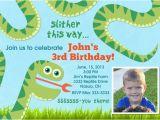 Snake Birthday Invitations Snake Birthday Party Invitations Printable by Party Pop