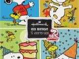 Snoopy Birthday Cards Free Peanuts Gang Kids Birthday Cards Boxed Set Snoopn4pnuts Com