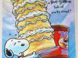 Snoopy Birthday Cards Free Snoopy Birthday Quotes Quotesgram