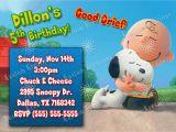 Snoopy Birthday Invitations Peanuts Snoopy Birthday Invitations Kustom Kreations