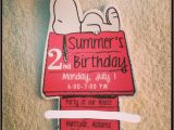 Snoopy Birthday Invitations Planning for A Snoopy Birthday Party Living is Easy