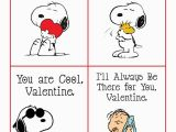 Snoopy Printable Birthday Cards Peanuts Valentine Free Printable Cards Featuring Snoopy