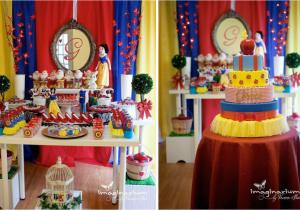 Snow White Birthday Party Decoration Ideas Disney Princess Girl 4th