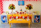 Snow White Birthday Party Decoration Ideas Kara 39 S Party Ideas Snow White themed Birthday Party Cake