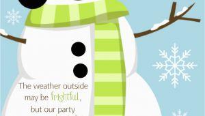 Snowman Birthday Invitations Snowman Invitation Personalized Custom Winter Christmas