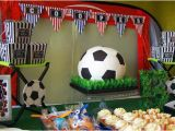 Soccer Decorations for Birthday Party Kara 39 S Party Ideas Kickin 39 soccer Birthday Party Planning