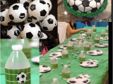 Soccer Decorations for Birthday Party soccer Birthday Party Ideas