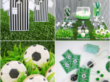 Soccer Decorations for Birthday Party soccer Football Birthday Party Desserts Table Printables