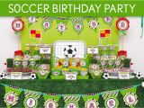 Soccer Decorations for Birthday Party soccer Party Ideas Birthday Home Party Ideas