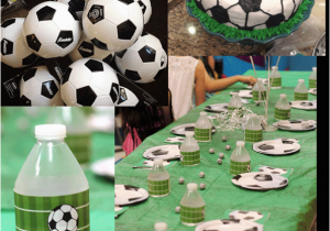 Soccer Themed Birthday Party Decorations Ideas