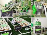 Soccer themed Birthday Party Decorations soccer themed Birthday Celebration Birthday Party Ideas