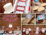 Sock Monkey Birthday Decorations Kara 39 S Party Ideas sock Monkey themed Boy 1st Birthday