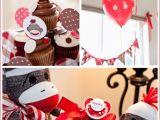 Sock Monkey Birthday Decorations sock Monkey Baby Shower Birthday Party Ideas Design