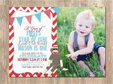 Sock Monkey First Birthday Invitations First Birthday Invitation sock Monkey 1st Birthday Invite