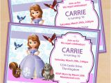 Sofia the First Birthday Invitations Printable Free Printable sofia the First Birthday Invitation Pack