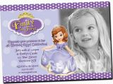 Sofia the First Birthday Invitations Printable Princess sofia Birthday Invitations Ideas Bagvania Free
