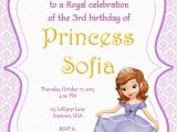 Sofia the First Birthday Invitations Printable sofia the First Party Invitations sofia the First Party